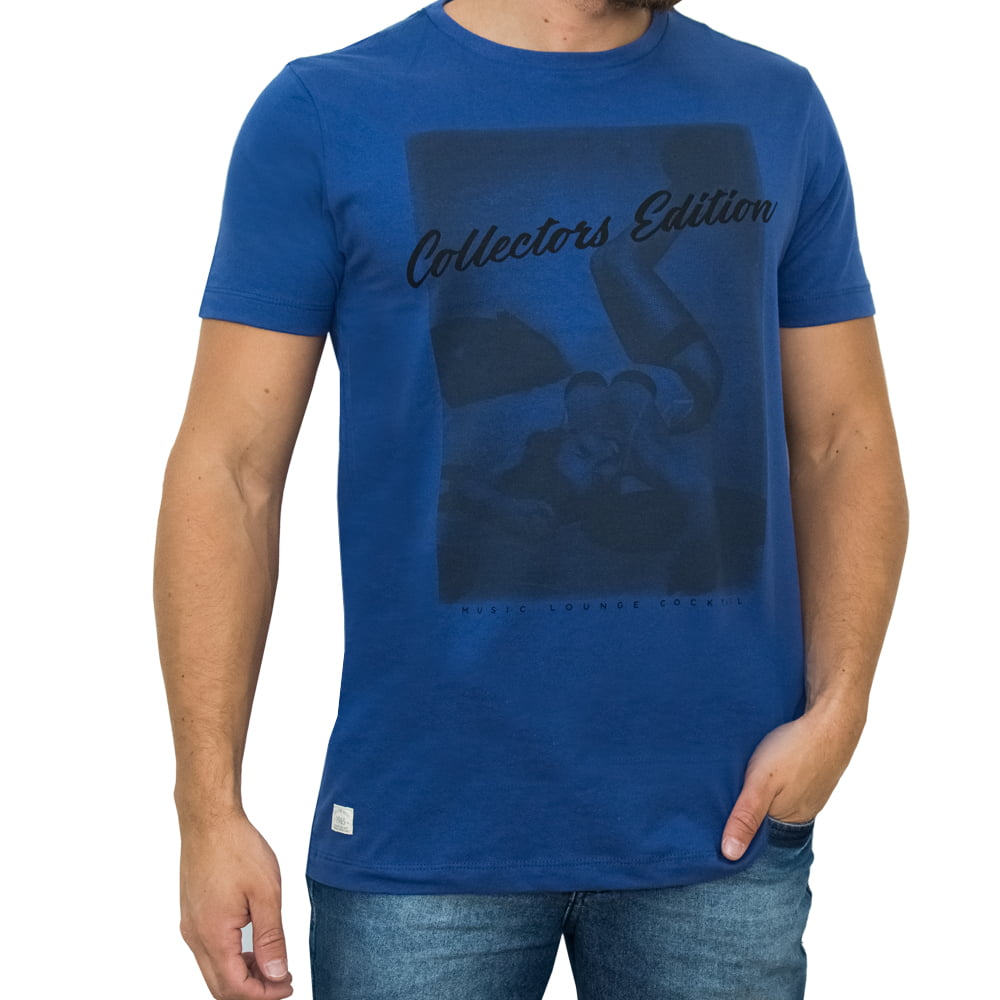CAMISETA PACK M/C - COLLECTORS AZUL