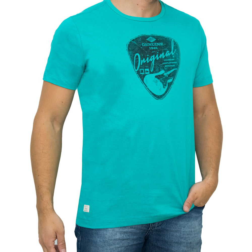 CAMISETA PACK M/C - GUITARS VERDE