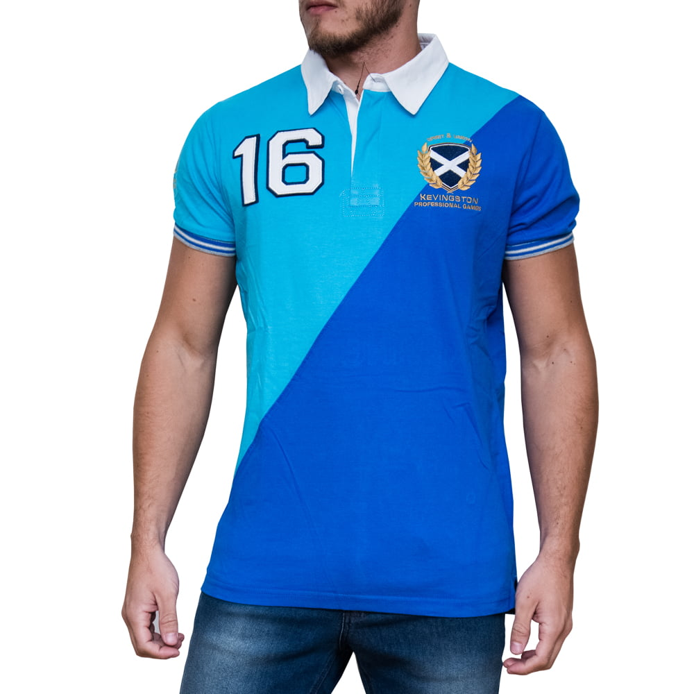 POLO DIAGONAL RUGBY M/C - SCOTLAND