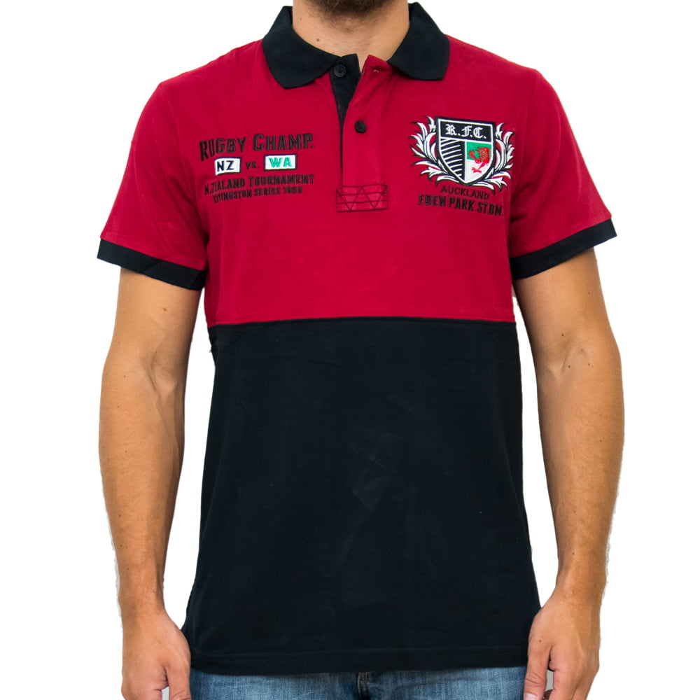 POLO HARDER RUGBY M/C - VERMELHA