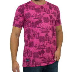 CAMISETA PRICE FULLPRINT - BORDO