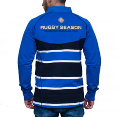 POLO BROWN RUGBY - AZUL