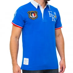 POLO CANDEM II RUGBY M/C - AZUL