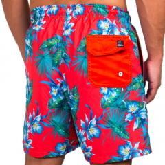 *SHORT DE BANHO WIND - HAWAII RED