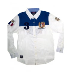 CAMISA WILMSLOW RUGBY M/L - FRANCE